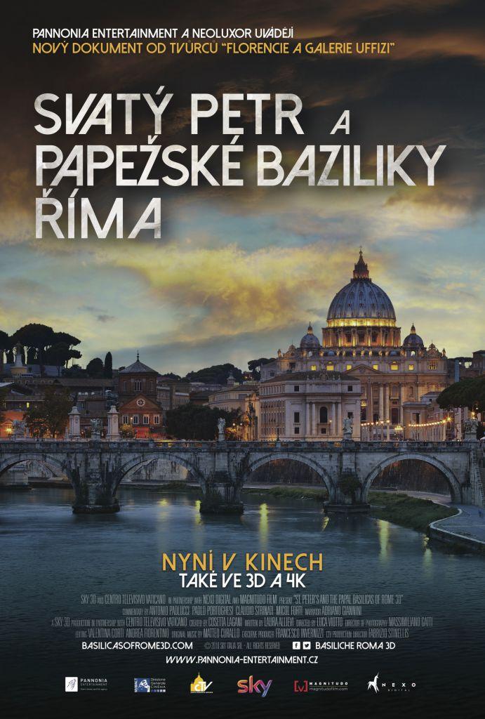 Svatý Petr a papežské baziliky (3D) 1
