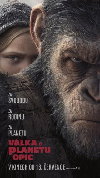 Válka o planetu opic 1