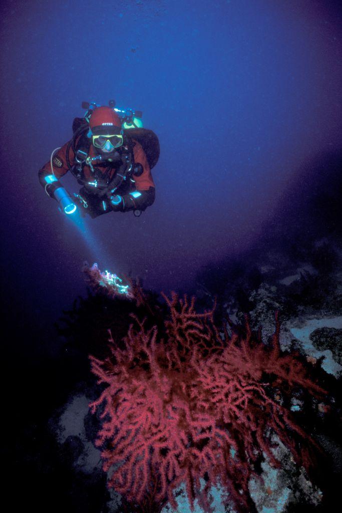 Jindřich Bohm - hlubinný potápěč