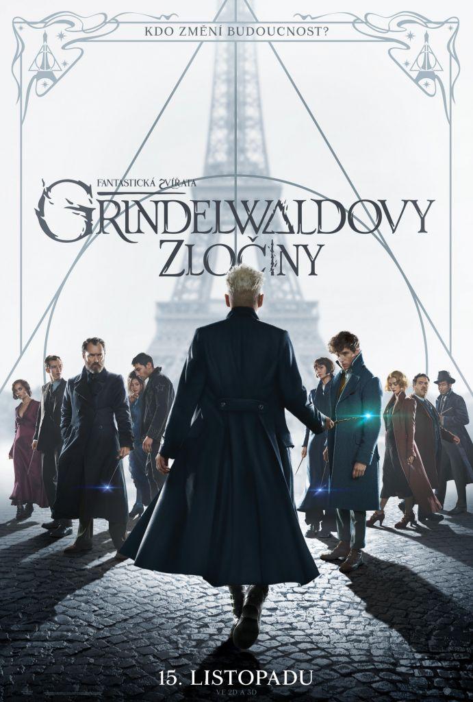 Fantastická zvířata: Grindelwaldovy zločiny (3D)