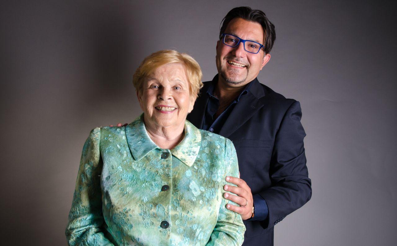 Ivanka Devátá a Andrea Andrei