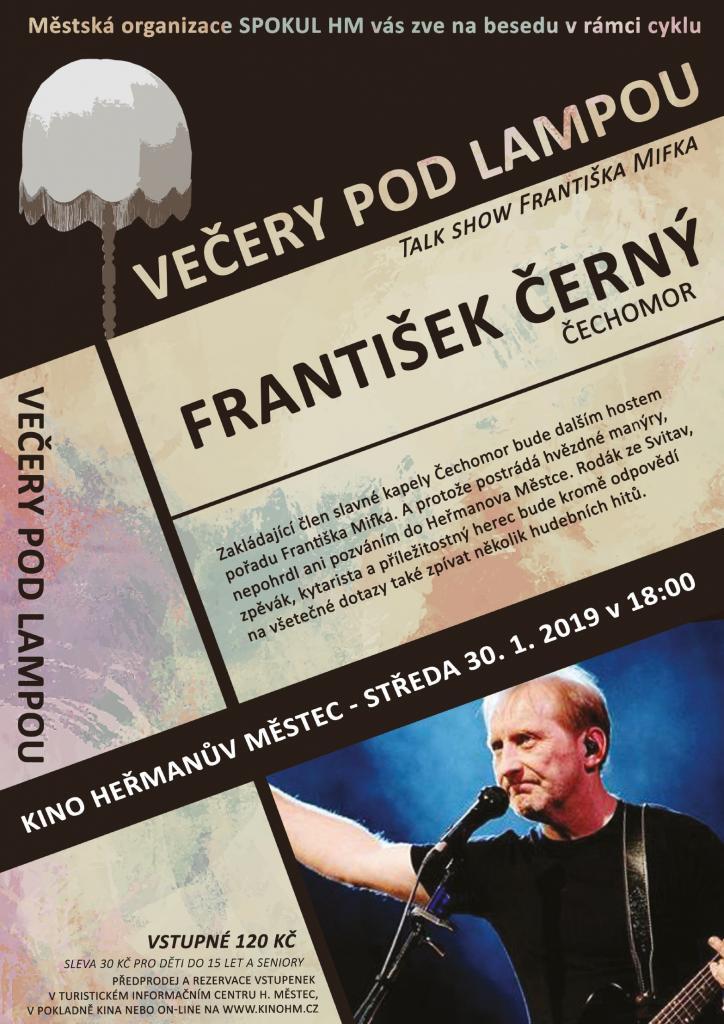 Večery podlampou - František Černý