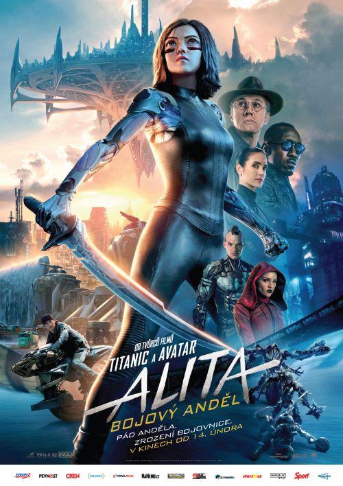 Alita: Bojový Anděl (3D)