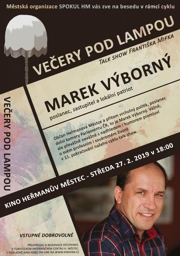Večery podlampou - Marek Výborný