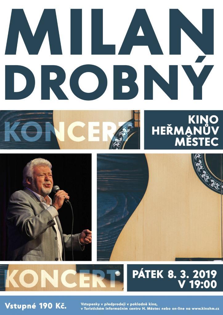 Koncert Milana Drobného