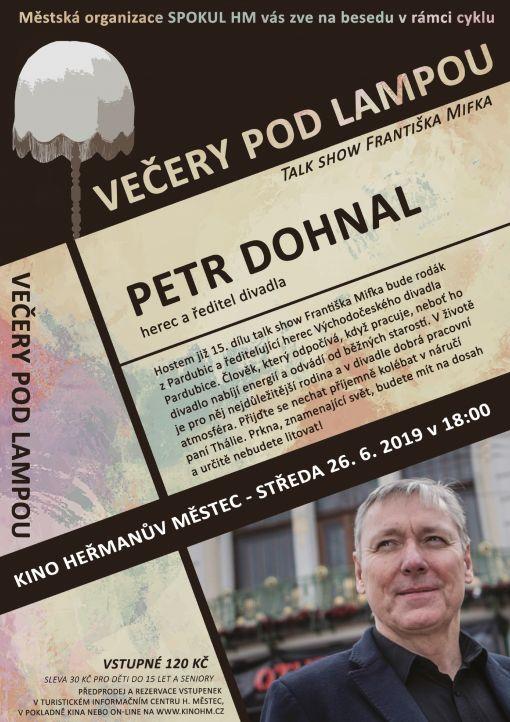 Večery podlampou - Petr Dohnal