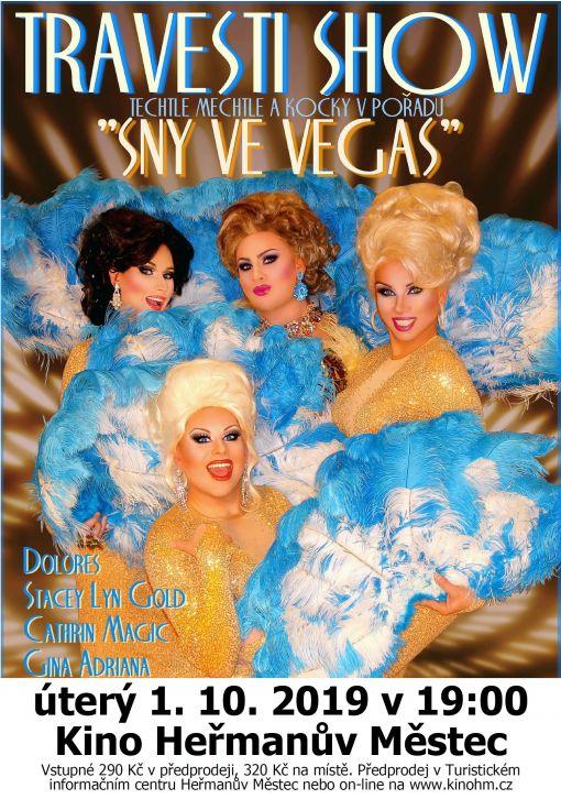"""Travesti show """"Sny veVegas"""""""