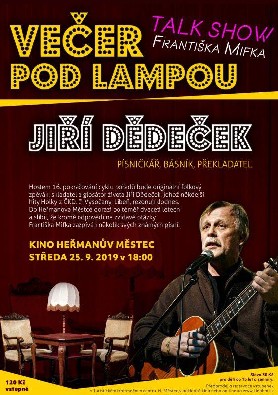 Večer podlampou - Jiří Dědeček