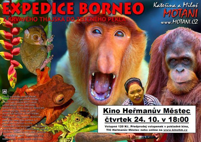Expedice Borneo