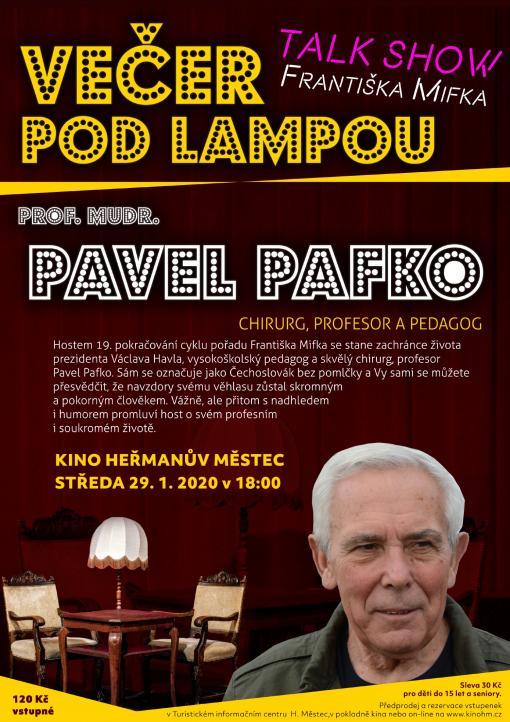 Večer podlampou - Pavel Pafko